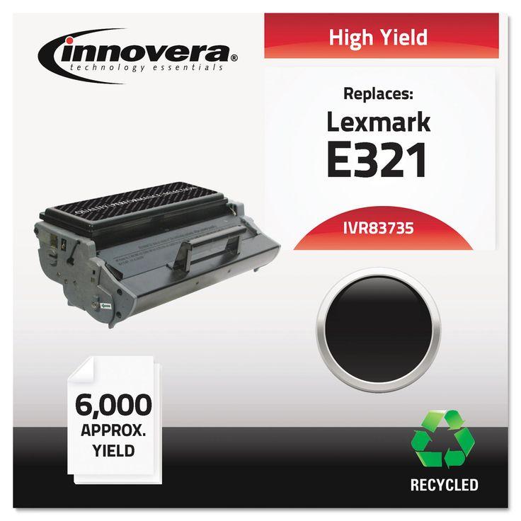 Innovera Remanufactured 12A7305 (E321) Toner, Black