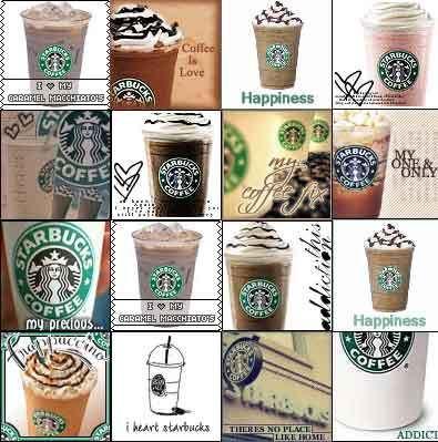 coffee....especially Starbucks :)