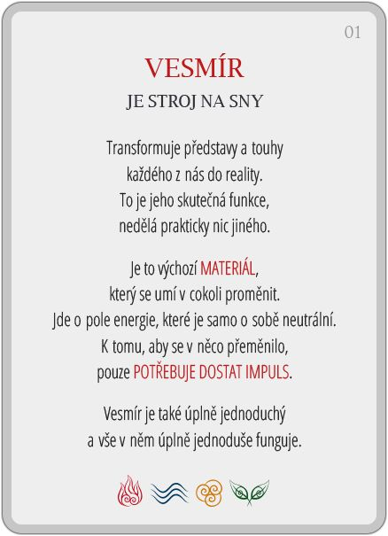 Portál pro osobní rozvoj změnou podvědomí a vlastní přitažlivosti: Člověče, poznej se — 1/24: Vesmír