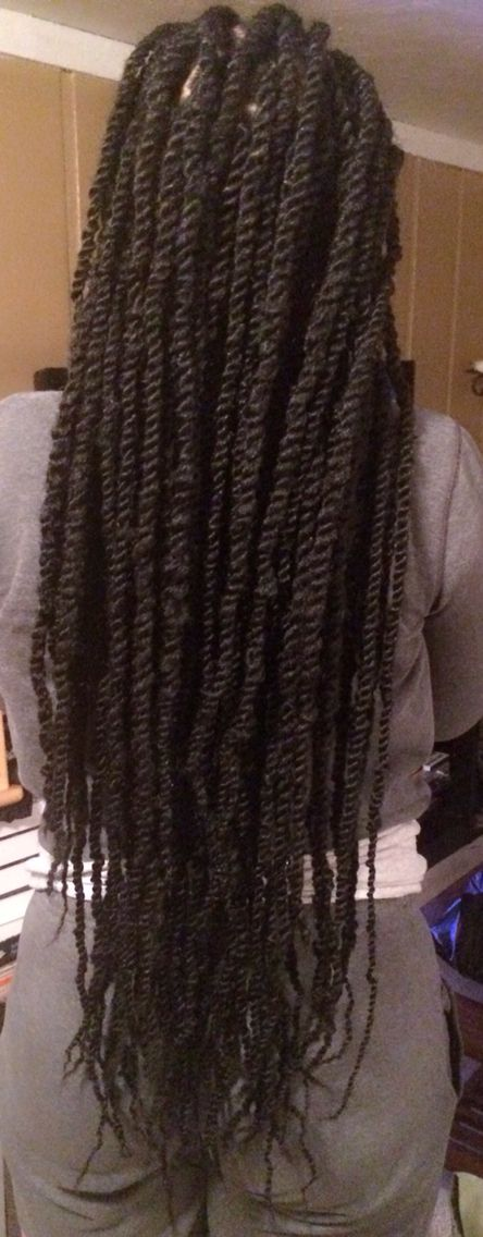 Long Marley Twists Done by me! #ProtectiveStyles