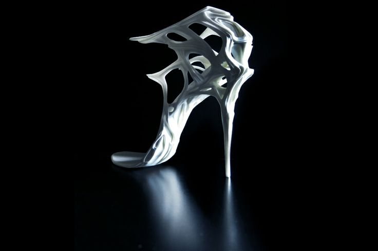 3DPrint 3D Shoes Couture Archicouture Digital Jorge Ayala http://jorgeayalaparis.com