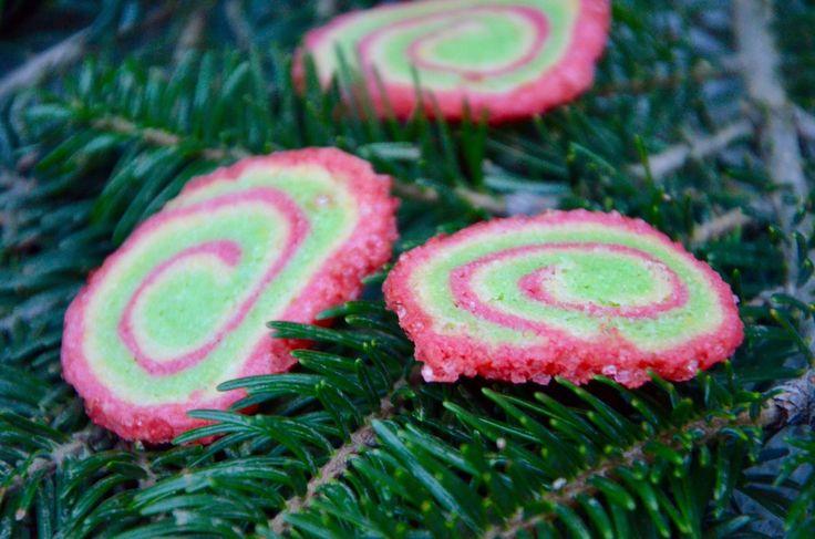 Des petits sablés aux couleurs de Noël! Habituellement je ne suis pas une adepte des colorants alimentaires mais pour les fêtes je fais une exeption. Par contre pour éviter que les sablés ne se déforment j'ai couvert ma plaque de sablés d'une deuxième...