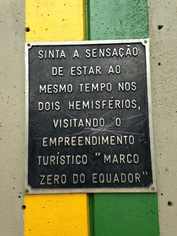 Marco Zero do Equador - Macapá, AP