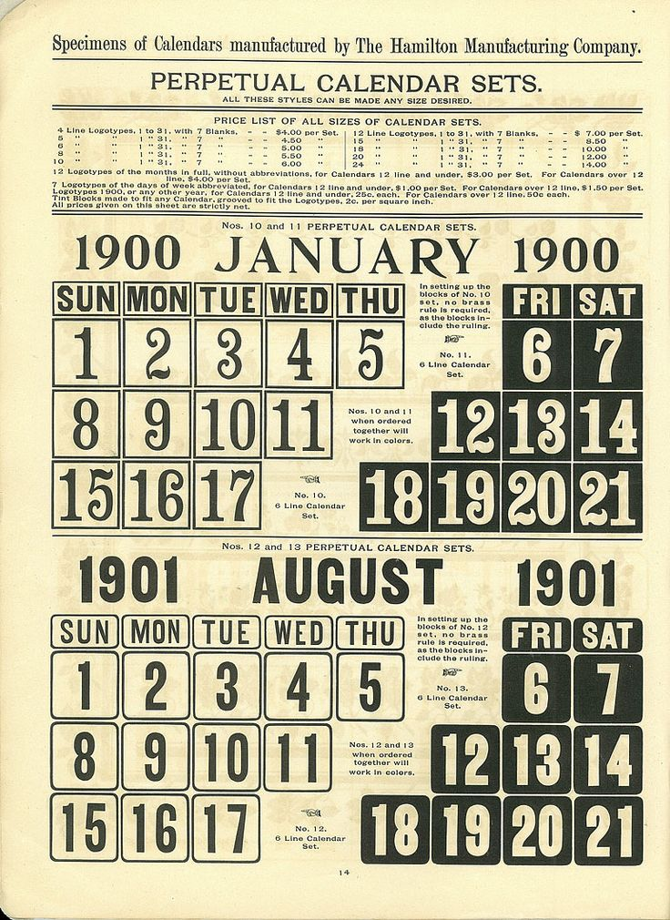 Perpetual Calendars : Best images about perpetual calendar on pinterest
