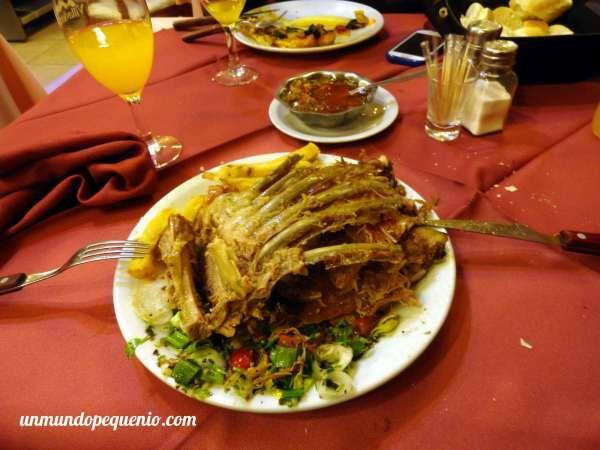 Plato de cordero de La Estancia #Ushuaia #foodie #Patagonia #Argentina #food