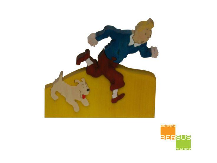 Tintin en madera http://maderas.bersus.ws