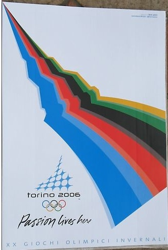 Torino (Turin) 2006 Winter Olympics - Official poster