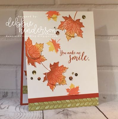 Stampin' Up! Colorful Seasons and the Spotlight In Multiples Technique. Debbie Henderson, Debbie's Designs #technique #colorfulseasons #stampinup #debbiehenderson #debbiesdesigns #spotlight