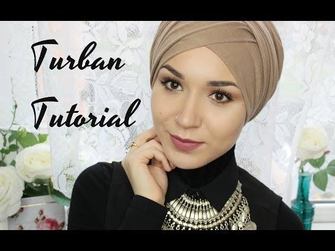 TURBAN TUTORIAL | V FOLD - YouTube