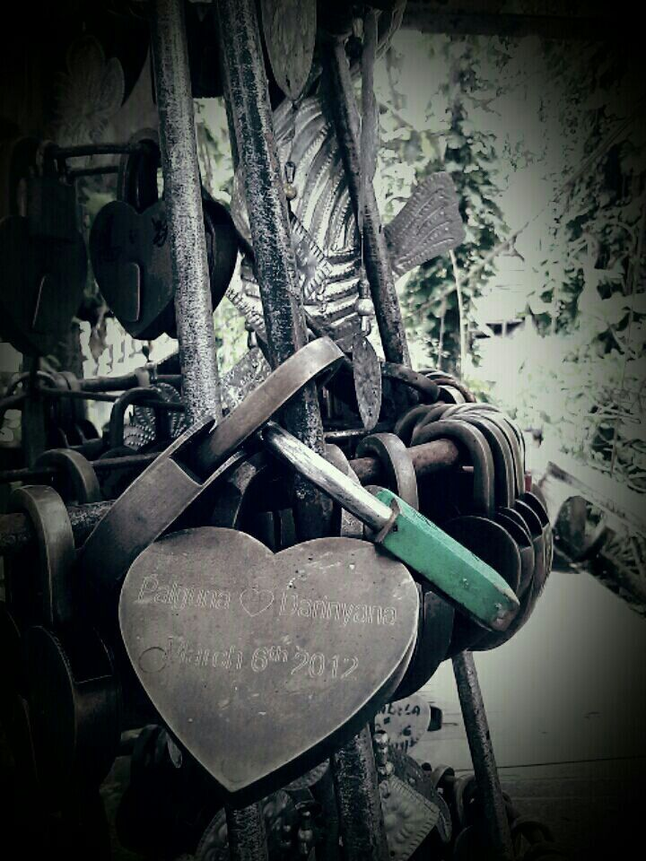 Lock your heart