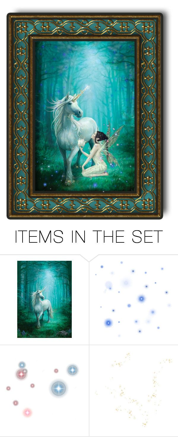 """""""By the Pale Moon Light"""" by fairieprincessgoddess ❤ liked on Polyvore featuring art"""