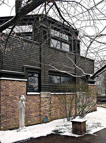 Frank Lloyd Wright own house & studio, Oak Park, Chicago