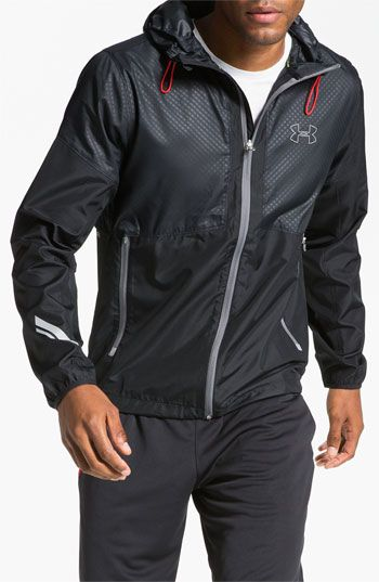 This is a perfect jacket for hitting the gym.  Under Armour 'Run' Jacket available at #Nordstrom