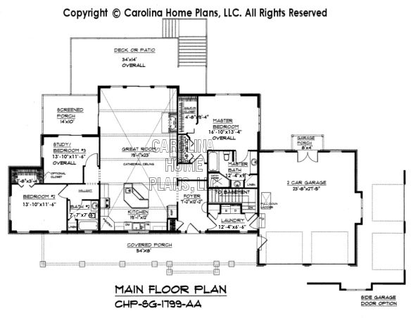 Small craftsman style home plan sg 1799 sq ft affordable for 1800 sq ft craftsman style house plans
