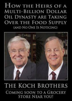 The Koch Brothers are leveraging their natural gas success by expanding into the fertilizer business. Next in line- Cattle and beef processing plants...