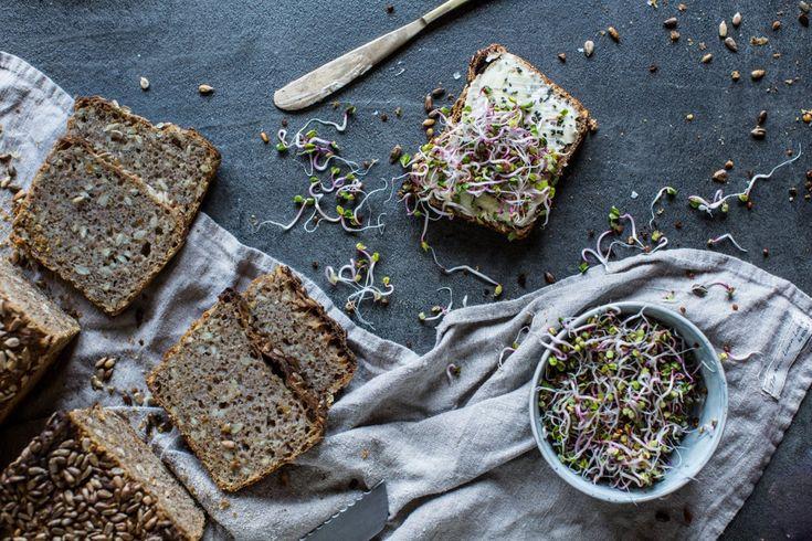 Celozrnný žitný chléb z kvasu | KITCHENETTE