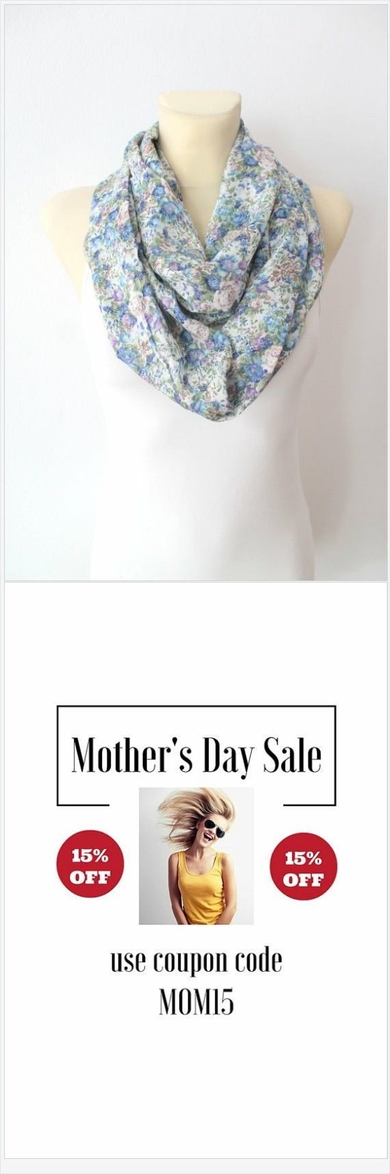 Mother's Day Sale now on! All our handmade scarves are 15%OFF until May. Use coupon code MOM15 at the checkout when you visit Locotrends on Etsy.   Find a unique gift for Mom among those fantastic women fashion accessories! You can chose from silk scarves, satin scarves, floral scarves, animal print scarves, boho scarves, fabric scarves, knit scarves. We have scarves for all seasons: Spring scarves, Summer scarves, Fall scarves and Winter scarves