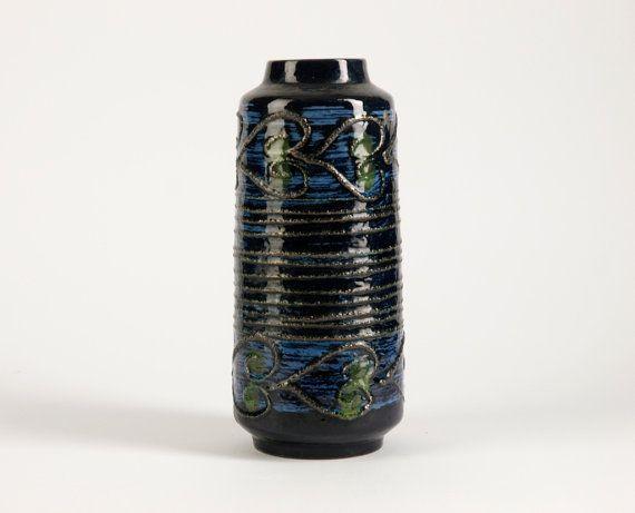 Fat Lava VEB HALDENSLEBEN Vase Vintage East by BetterLookBack