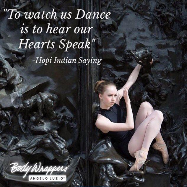 Wednesday Wisdom from Body Wrappers/Angelo Luzio with @Johannadances