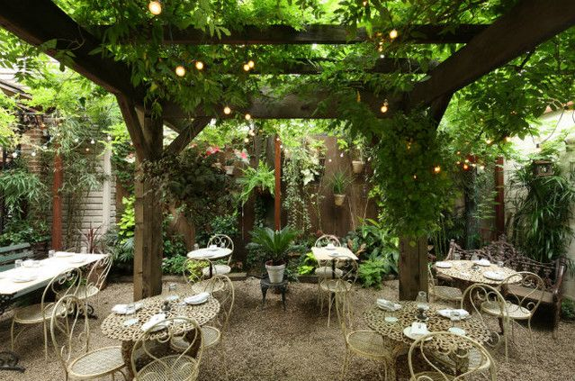 15 Outdoor Garden Restaurants Bars To Try In Nyc Outdoor