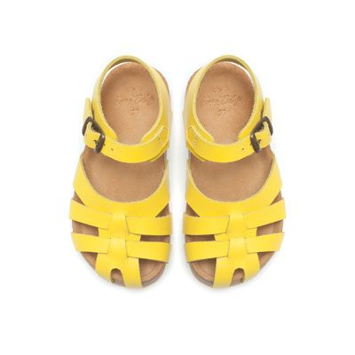 Leather strappy sandal - Shoes - Baby girl - Kids - ZARA