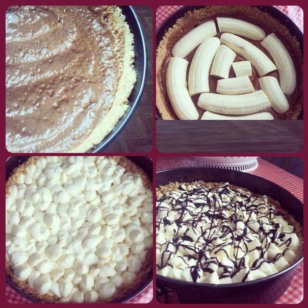 РЕЦЕПТЫ И СОВЕТЫ ХОЗЯЙКАМ: Рецепт восхитительного бананового торта «Баноффи». Настоящее сокровище для сладкоежек.