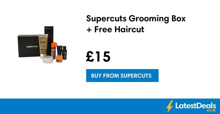 Supercuts Grooming Box + Free Haircut, £15