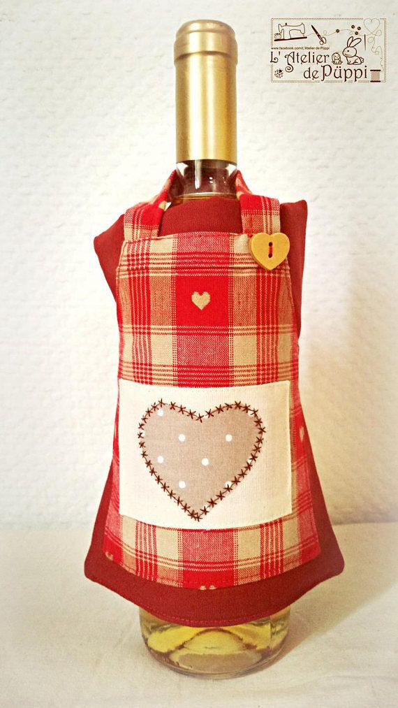 Check out this item in my Etsy shop https://www.etsy.com/listing/542740827/apron-with-bottle-gift-idea-christmas