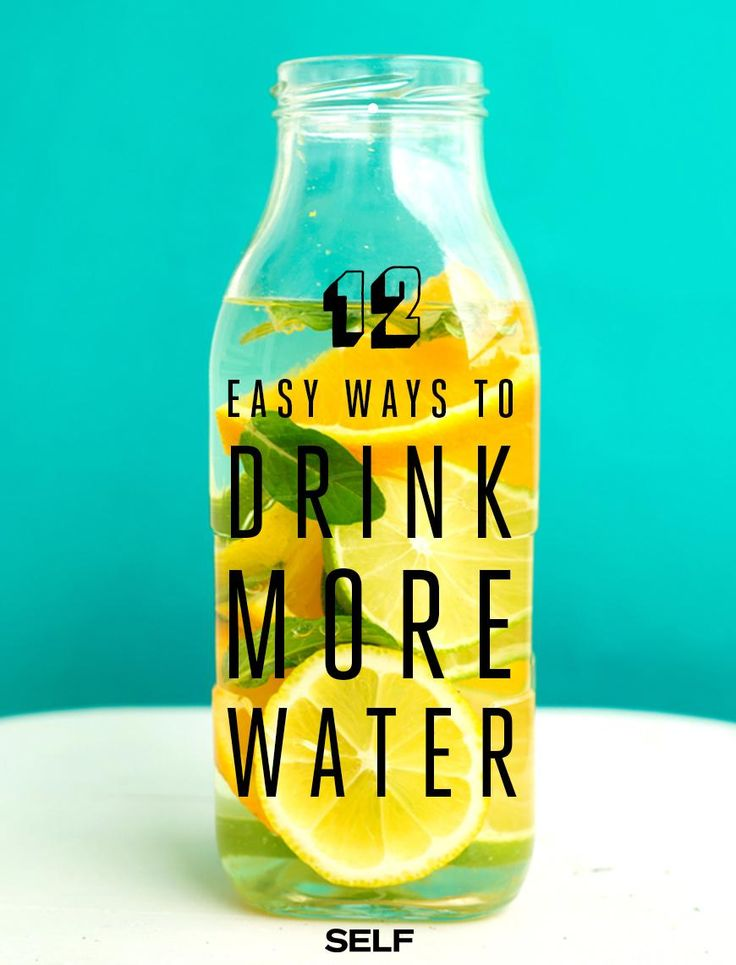 These tricks make sipping water less of a chore.