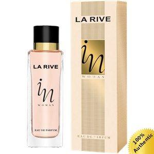 In Woman Eau de Parfum de La Rive é um perfume feminino para a mulher decidida e com atitude, autora da própria vida, que não tem medo de ser feliz.