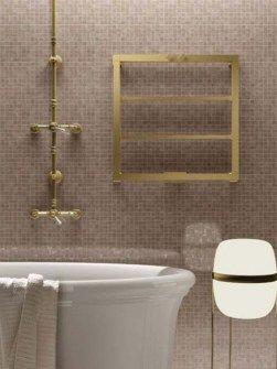luxus radiátor, réz radiátor, fürdőszobai radiátor