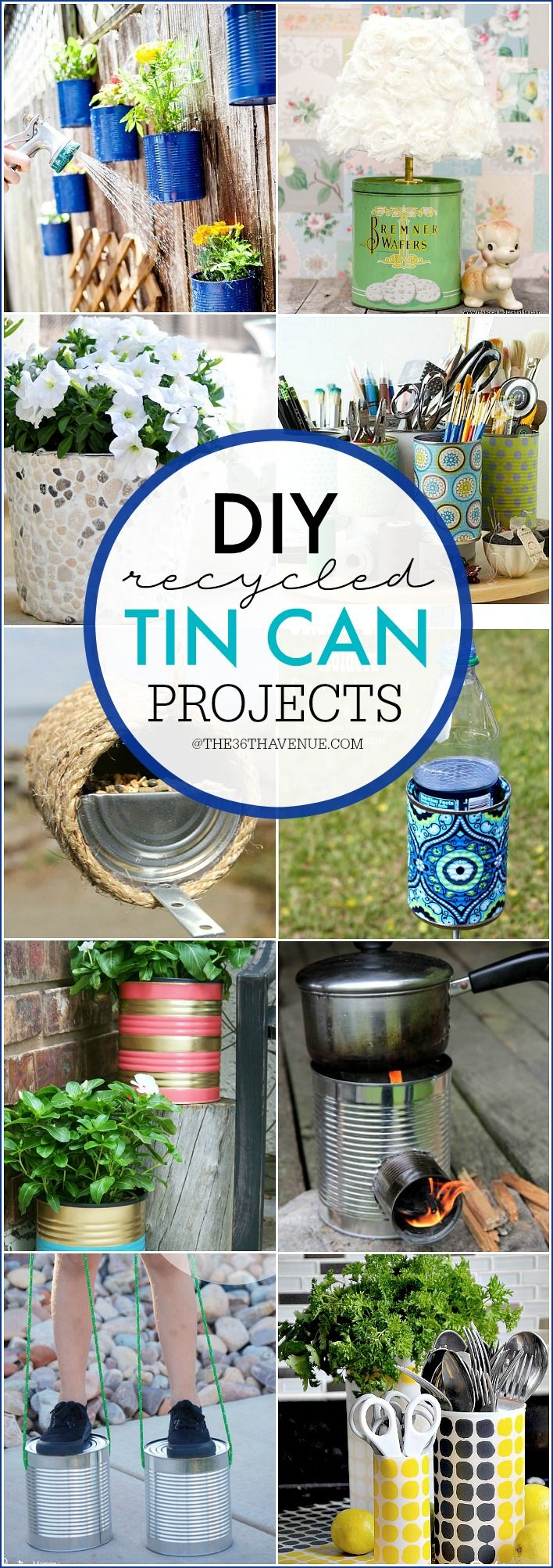 Best 25+ Recycled tin cans ideas on Pinterest | Tin cans ...