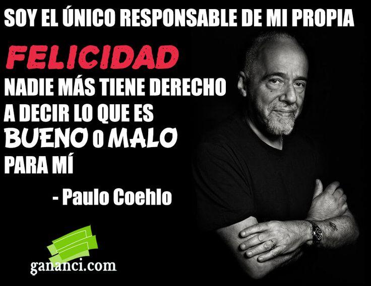 Frases De Paulo Coelho: Frase-Paulo-Coelho-Felicidad.jpg (856×661)