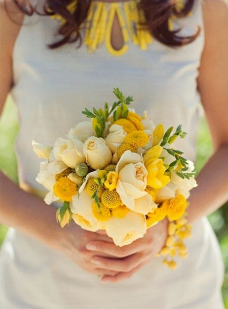 17 best Yellow wedding flowers images on Pinterest Yellow