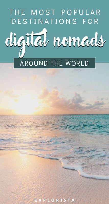 Where exactly are the most popular digital nomad destinations around the world? From Europe to Asia, here's a definitive guide. #digitalnomad #locationindependent