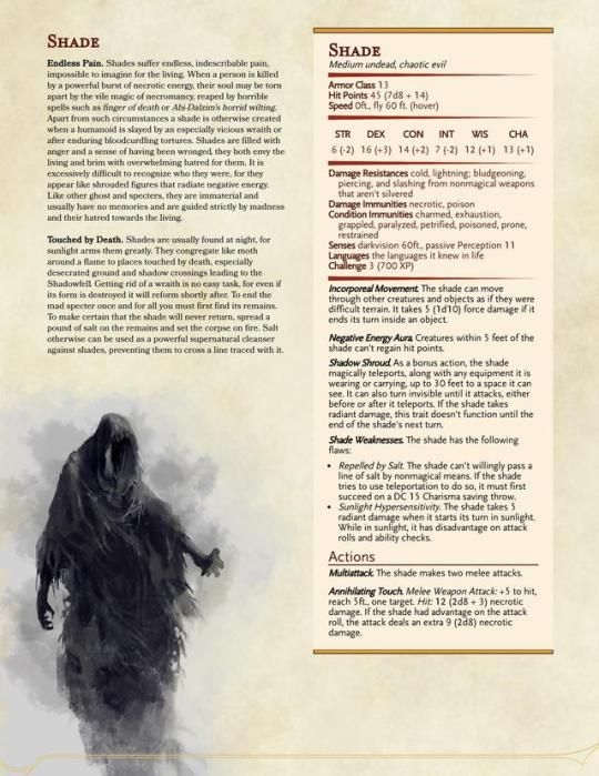Pin by airoh on DnD monsters in 2019 | Dnd stats, Dnd