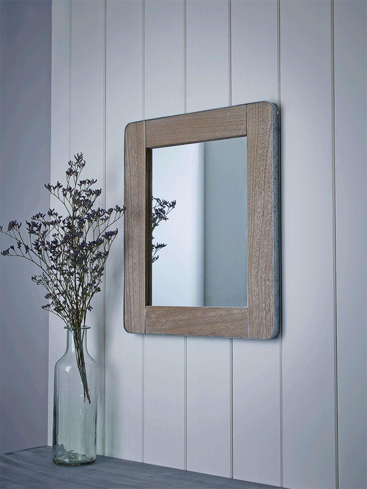 Metal Edged Mirror - Small - Mirrors