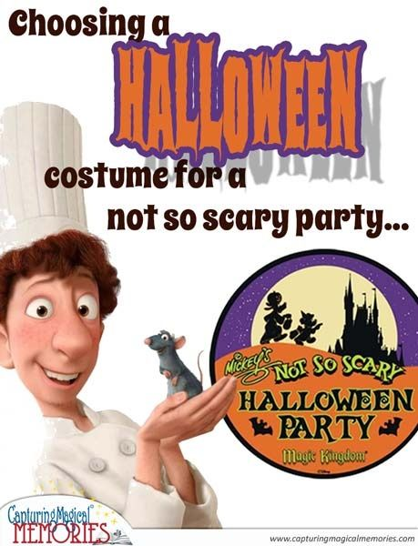 Choosing a Halloween Costume for Mickey's Not So Scary Halloween Party