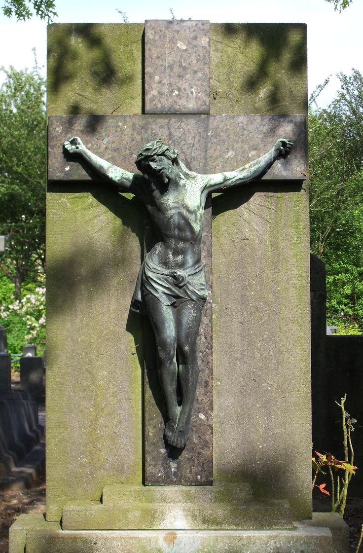 Another nice cross at a cemetary in Tilburg