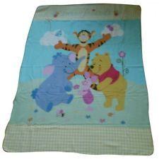Coperta pile Disney baby 120x160cm Winnie the Pooh - AZZURRO/GIALLO