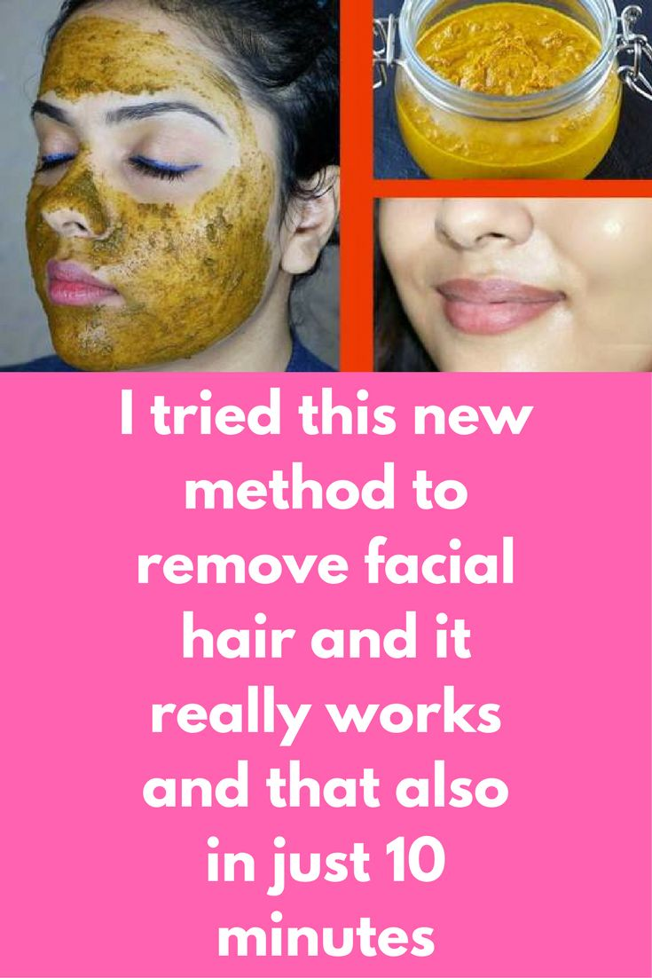 I Tried This New Method To Remove Facial Hair And It