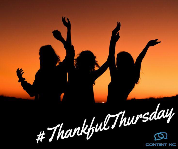 #thankfulthursday  #socialmediamanagement  #kansascity  http://contentkc.com