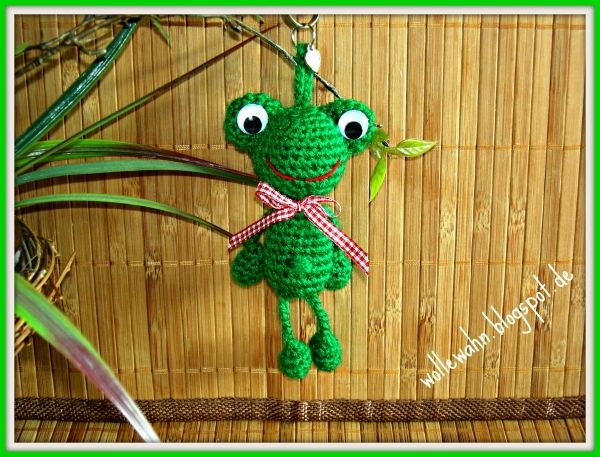 Taschenbaumler Baumelbeine Frosch Häkelanleitung Häkeln Für Kids