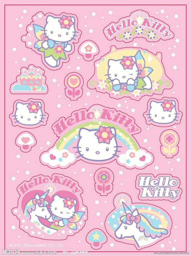 Pin by Pink Rose♡ on hello kitty♡ Hello kitty printables