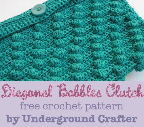 652 Best Crochet Clutch Bag Images On Pinterest Crocheted Bags