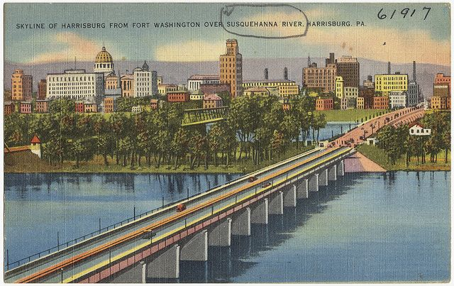 Skyline of Harrisburg from Fort Washington over Susquehanna River, Harrisburg, PA. | Flickr - Photo Sharing!