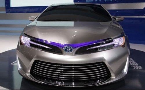 2016 Toyota Corolla - celebrities and cars