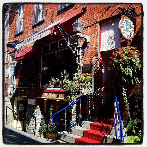 63, Petit-Champlain, l'été