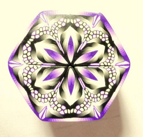 TUTORIAL Flowering Mandala 2 Polymer Clay Cane by ClaybyKerm
