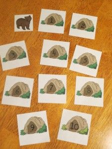 We're Going on a Bear Hunt book activities